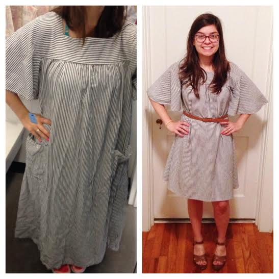 Thrifted Thursday: Housedress Refashion