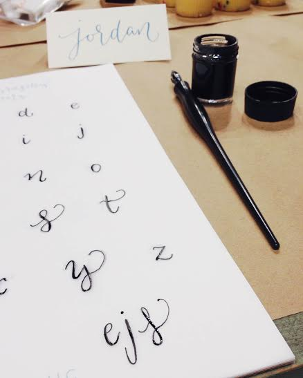 Finally got the hang of writing my 3 letters!