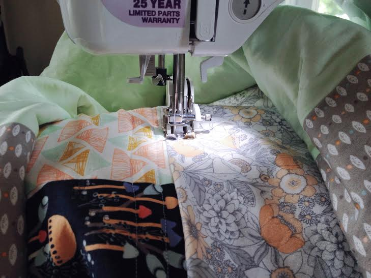 Stitching and rolling :)