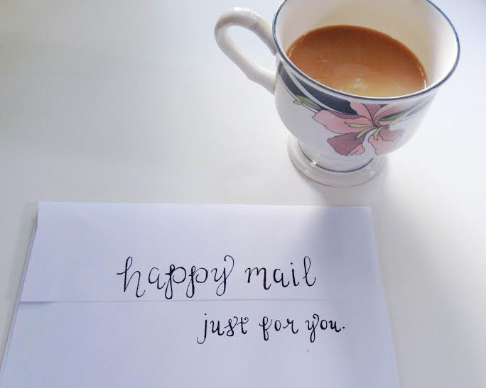 Calligraphy – and more reasons to send snail mail