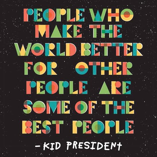 If you're not following Kid President on Facebook, you need to! {Click the image for a link to his page}