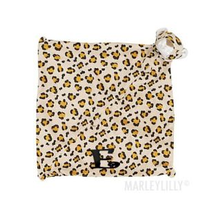 How about one of these super soft Monogrammed Lovies for her little one!