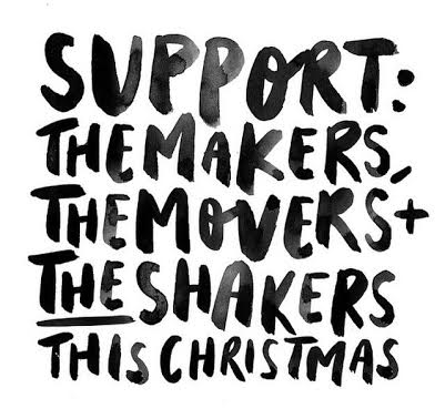 I hope you'll join me on a mission to support handmade businesses this season!