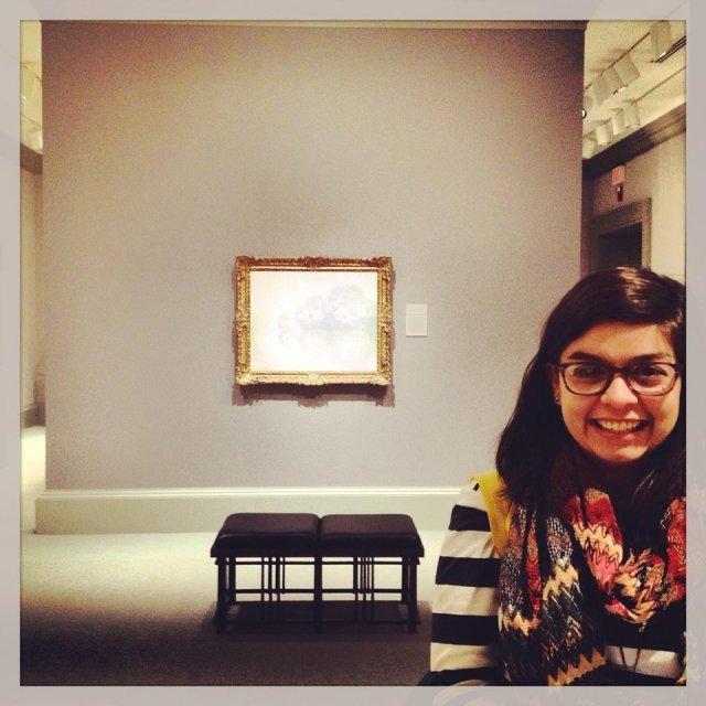 me & Monet | Jan. 2014 [insert heart-eyed-emoji]