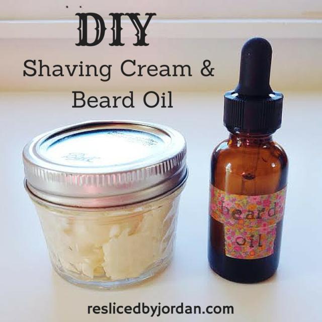 diy beard oil shaving cream resliced by jordan. Black Bedroom Furniture Sets. Home Design Ideas