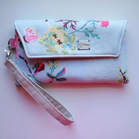 My finished Envelope Clutch!