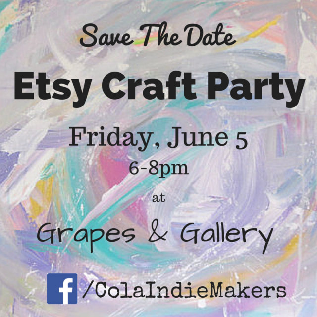 craft party save the date