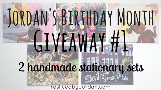 Birthday Month Giveaway #1