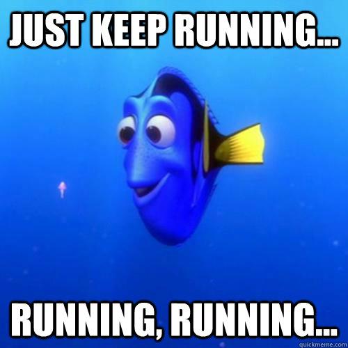 True Life: I'm training for a half marathon…again