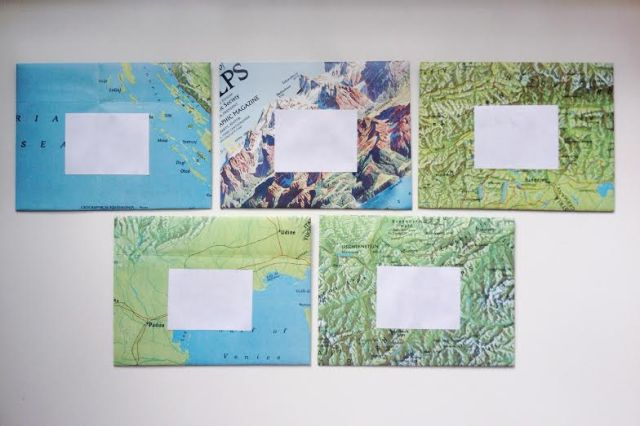 map envelope 4