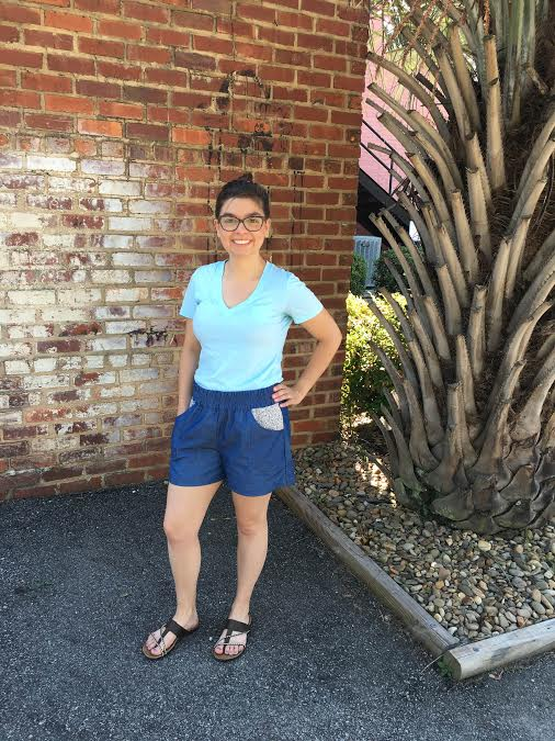 Sew Caroline's Newest Pattern: Parkside Shorts + Skirt