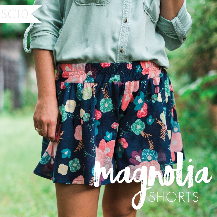 Sew Caroline's Magnolia ShortsPattern