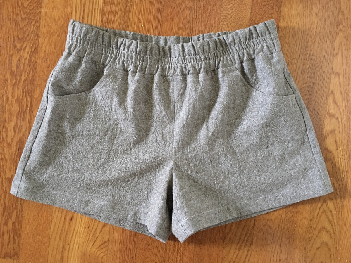 My new Parkside Shorts and thoughts about the postpartum body