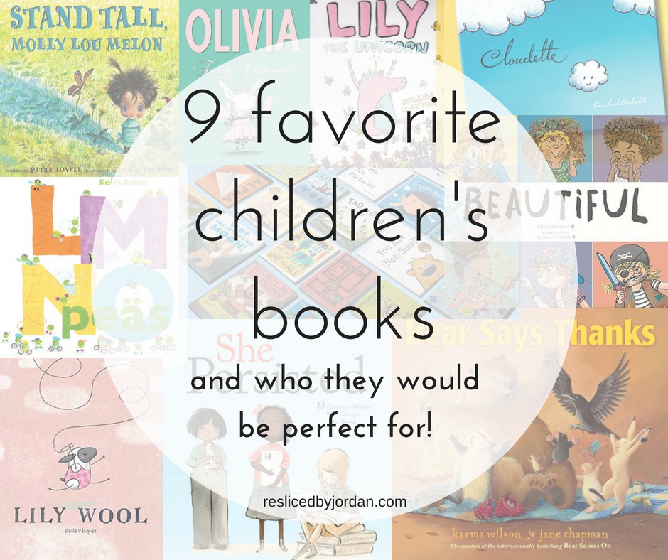 9 Favorite Children's Books