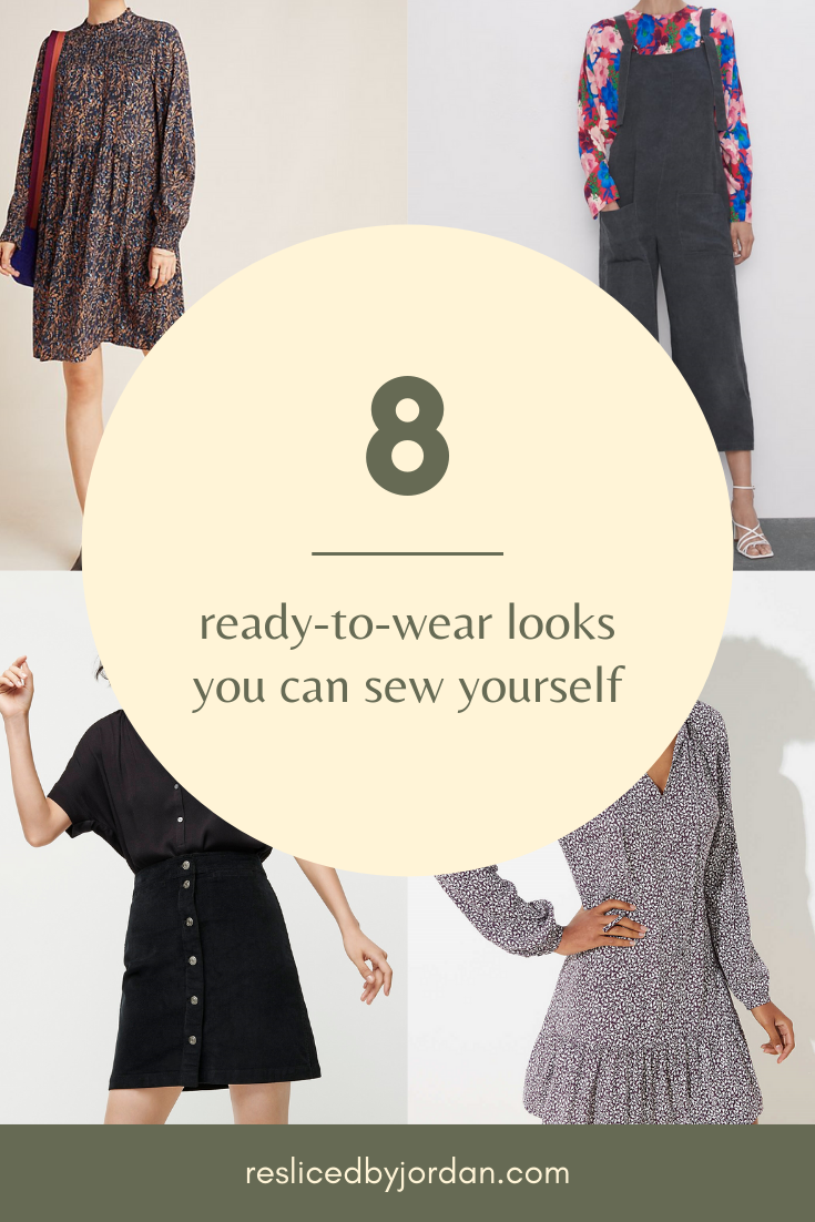 RTW Looks You Can Sew Yourself